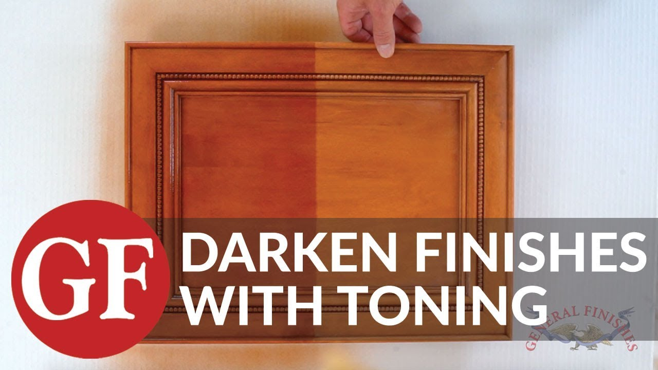 Genial How To Darken An Existing Finish By Toning