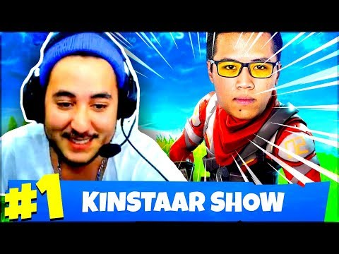 ON DISCUTE EN REGARDANT KINSTAAR FAIRE LE SHOW ! ► FORTNITE