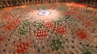 A R Rahman s Vande Mataram Revival @ CWG 2010 Closing Ceremony