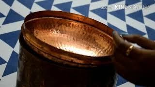 तांबे के बर्तन में रखा पानी पीने के फायदे   Health Benefits of drinking water Copper Vessel