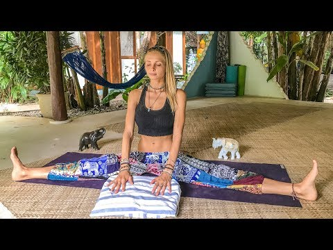 Yoga For Deep Sleep & Relaxation ♥ Best Way To Unwind | Blue Indigo Retreat