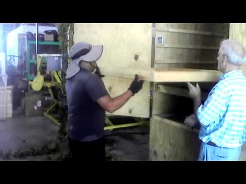 Interview with Dixon of Seaside Hops Drying The Hops Cones