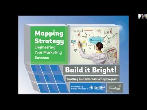 Mapping Strategy Marketing Solar Webinar