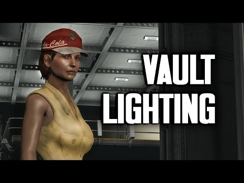 How to Light Your Vault - Vault 88 Lighting Tutorial - Vault-Tec Workshop for Fallout 4