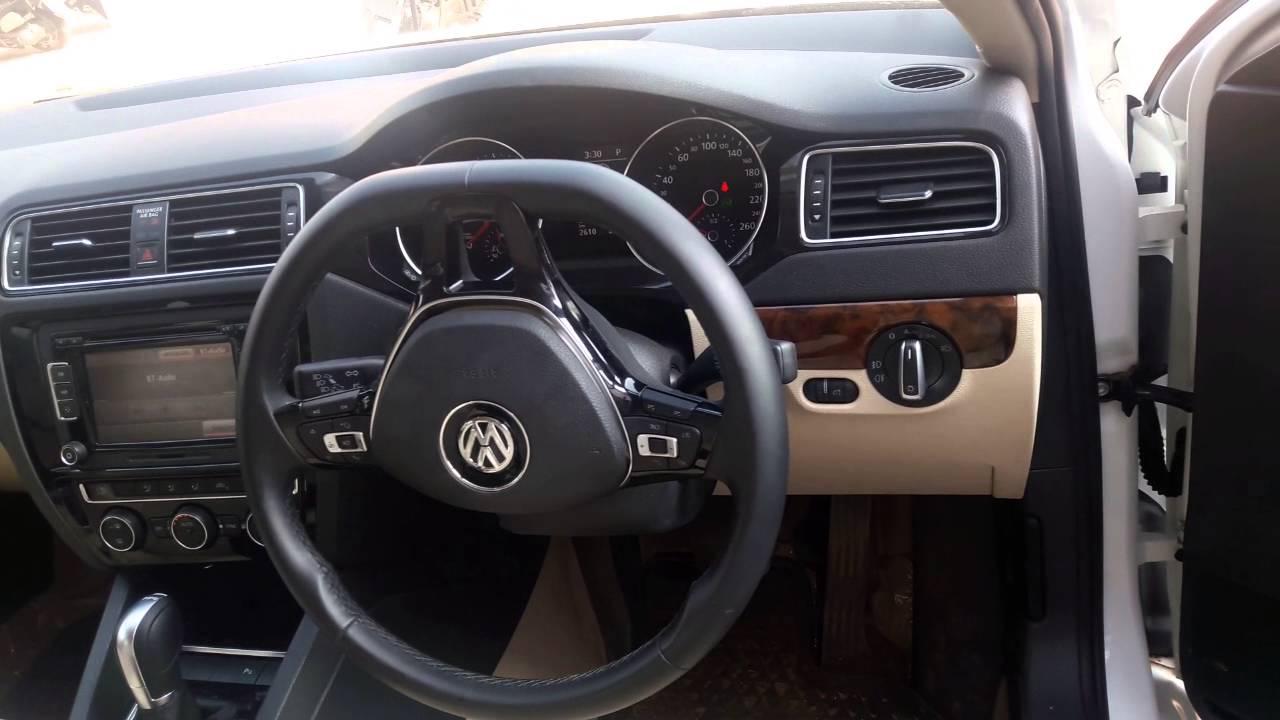 volkswagen jetta diesel automatic interiors highline tdi  youtube