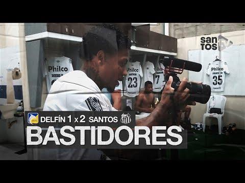 DELFÍN 1 X 2 SANTOS | BASTIDORES | CONMEBOL LIBERTADORES (24/09/20)