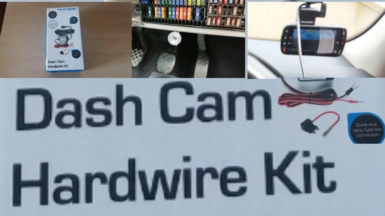 Hardwiring A Nextbase 312gw In Car Camera Using The Kit Skoda Citigo Fuse Box