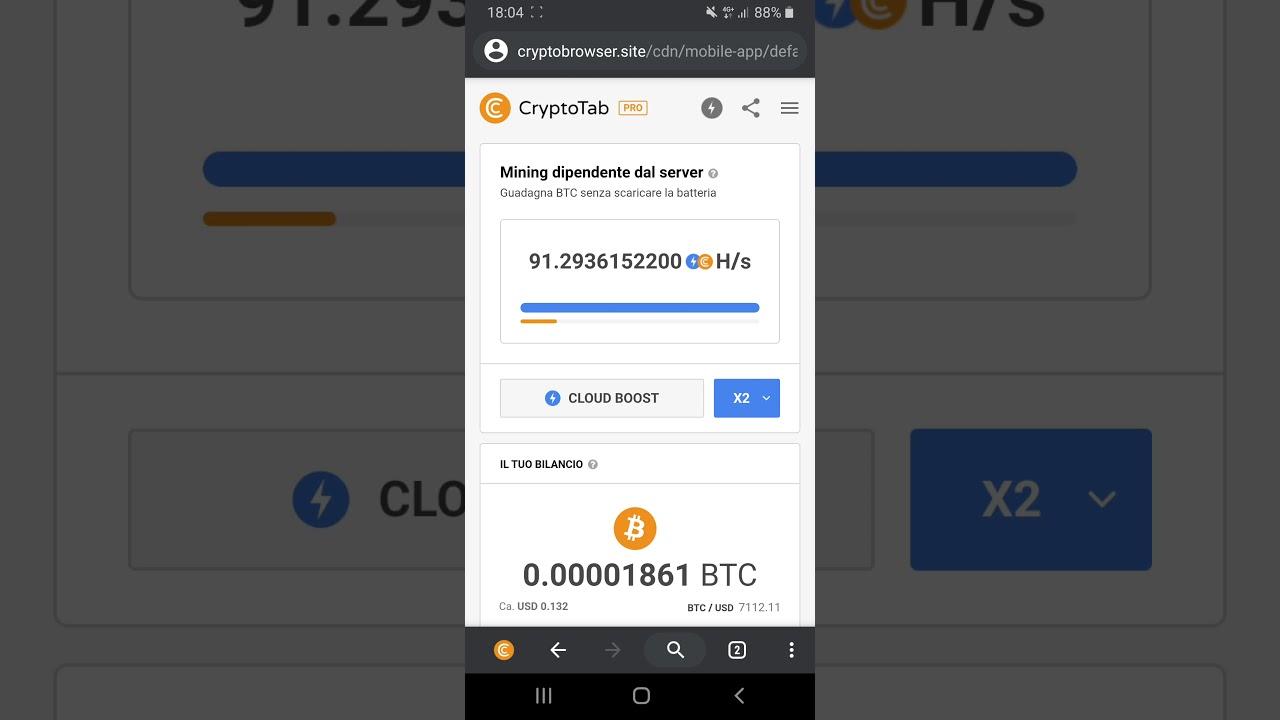 generare bitcoin su android