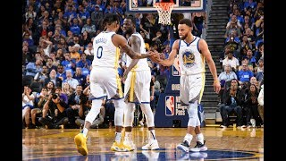 Stephen Curry & D'Angelo Russell Warriors Debut Highlights