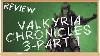 Valkyria Chronicles 3 (PSP/Part 1 Gameplay) - The Smartest Moron Reviews