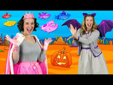 Halloween Baby Shark + More Kids Halloween Songs