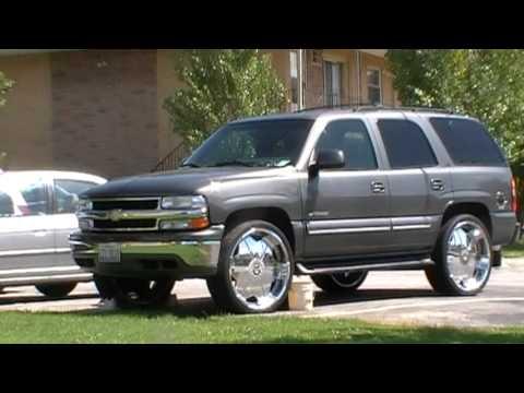 Chevy Tahoe on 26's Starr 619 Slash - YouTube
