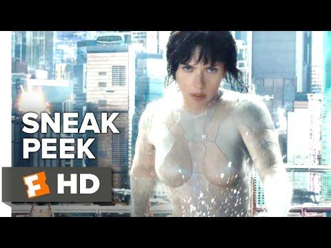 """Ghost in the Shell Official Sneak Peek (2017) - """"Tokyo""""- Scarlett Johansson Movie"""