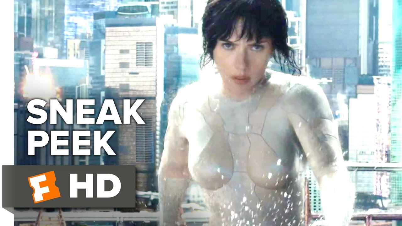 Ghost In The Shell Official Sneak Peek 2017 Tokyo Scarlett Johansson Movie Youtube