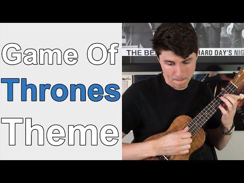 Game Of Thrones Theme - Ukulele Lesson