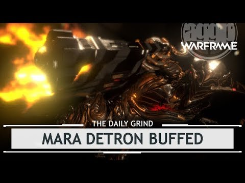 Warframe: Mara Detron Buffed - The Monster Evolves! [thedailygrind]