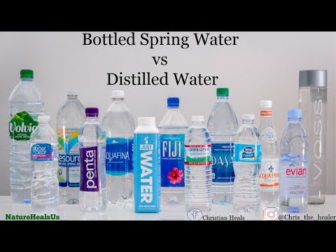 Inorganic Minerals In Water  Vs Minerals, And Why Distilled Water Is The Ideal Water.