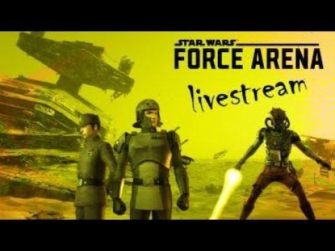 Star Wars: Force Arena - Late night short stream. Hi
