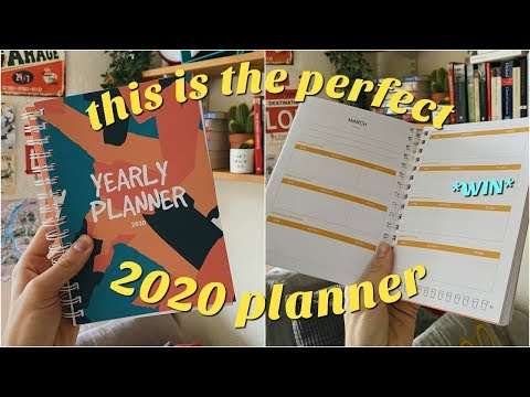 THIS IS THE PERFECT 2020 PLANNER FOR ORGANISATION AND PRODUCTIVITY!!! *product announcement eeeek*