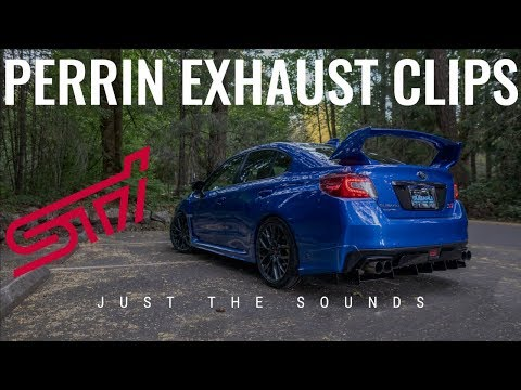 🔊 JUST THE SOUNDS: PERRIN DUAL TUBE CAT-BACK EXHAUST CLIPS
