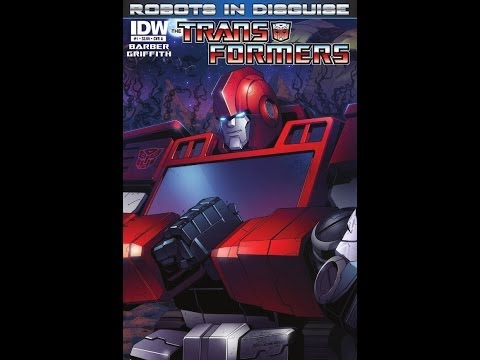 Redneck Reviews – IDW Comics – Transformers Robots In Disguise # 1