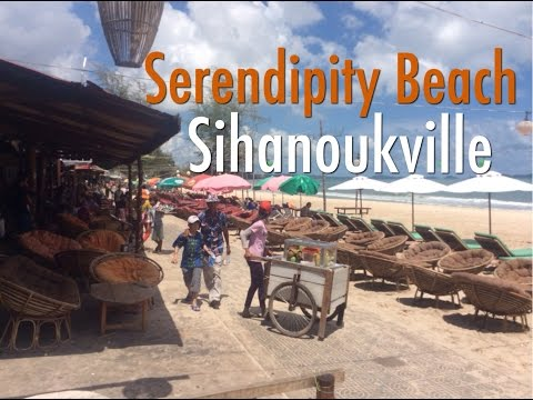 A Walk Around Serendipity Beach, Sihanoukville - Cambodia's #1 Beach Resort Town