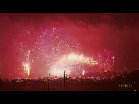 #1 on Trending || 2018 New Year Eve Sydney Australia Fire Crackers Show