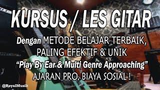 Kursus / Les Gitar Jakarta - Belajar Bersama Dani MKD