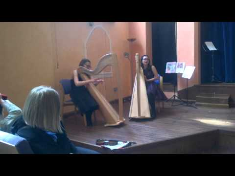 Wilson sisters performing for Music of LIfe at Children's Concert 16 May 2015