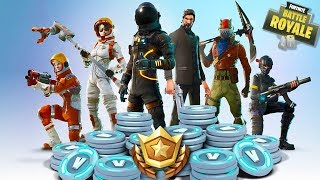 Fortnite Battle Royale - BATTLE PASS SPENDING SPREE - BUYING ALL TIERS!