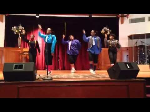 If He Did It Before/ Same God - Tye Tribett LWFC (SSBC) Teen Praise Dancers