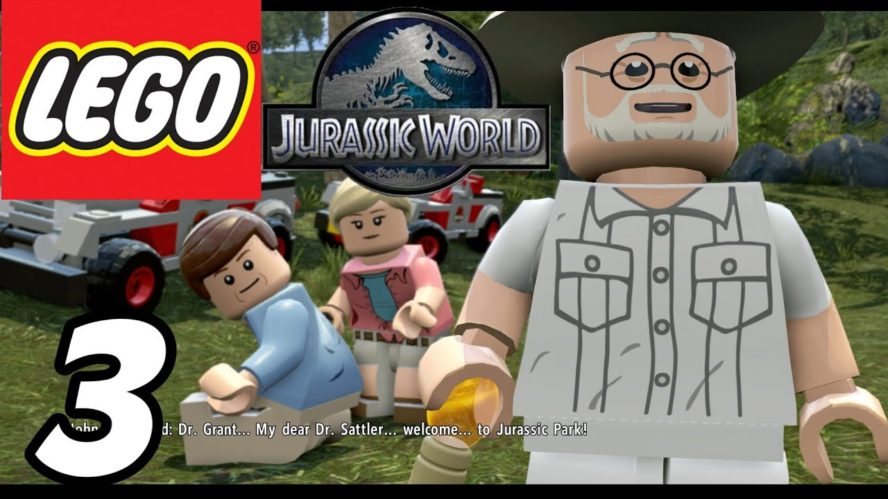 Lego jurassic world part 3 welcome to jurassic park gameplay lego jurassic world part 3 welcome to jurassic park gameplay walkthrough 1080p youtube gumiabroncs Image collections