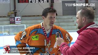 Finale LNA Acte 3 : Interview Sébastien Koulmey