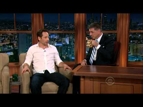 TLLS Craig Ferguson - 2013.02.28 - David Duchovny, Ashley Madewke