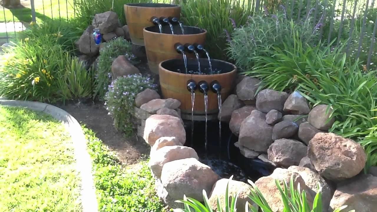 Oak Barrel Water Fountains Best Fountain 2018