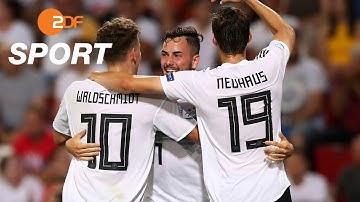 Deutschland - Serbien 6:1 - Zusammenfassung | Fußball U21-EM 2019 - ZDF
