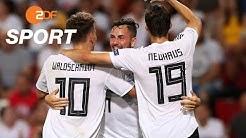 Deutschland - Serbien 6:1 - Zusammenfassung   Fußball U21-EM 2019 - ZDF
