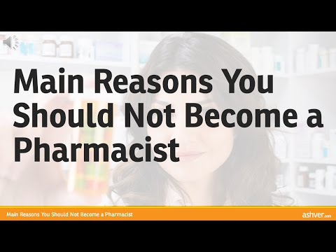 Main Reasons You Should Not Become a Pharmacist