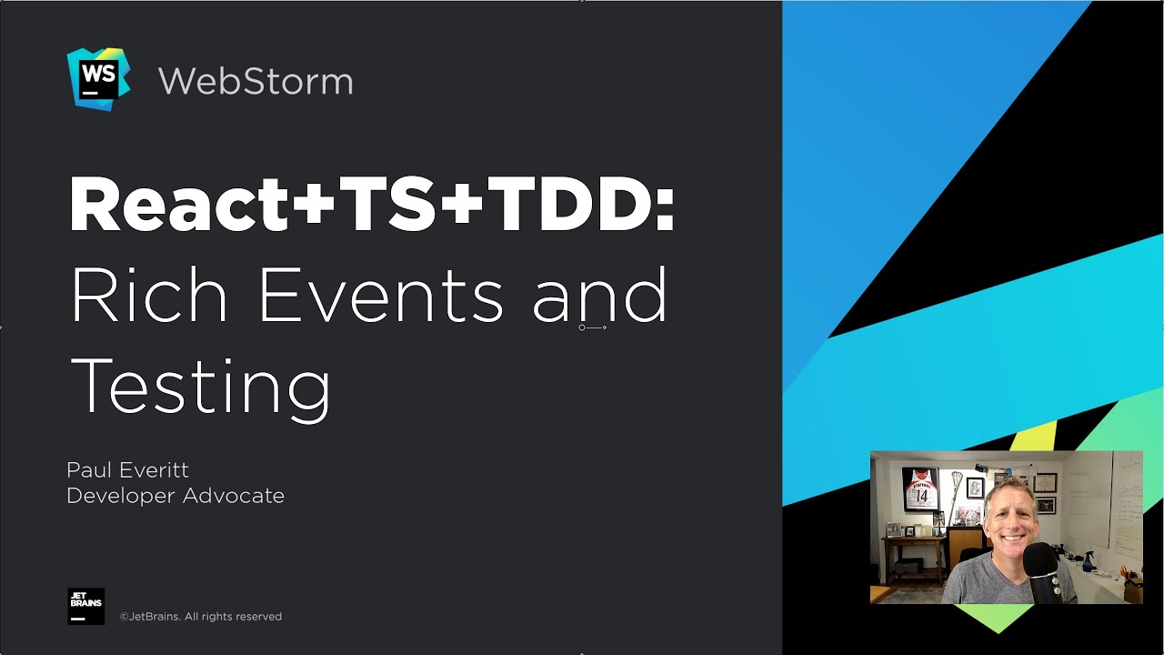 React, TypeScript, and TDD Tutorial: Rich Events and Testing
