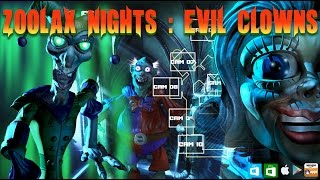 Zoolax Nights: Evil Clowns (Official Trailer): Killer Scary Game