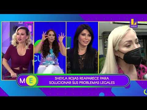 Sheyla Rojas reaparece para solucionar problemas legales (03-11-2020)