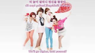 2NE1 - Try to follow me [english subs   romanization   hangul]