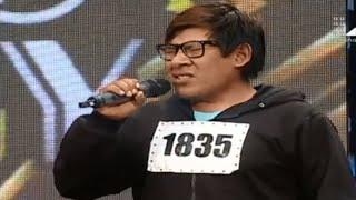 Yo Soy Jesús Adrían Romero   causó furor en el casting 12/12/15