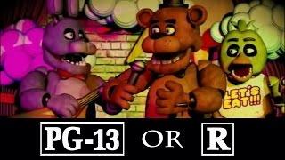 FNAF Movie PG-13 or R