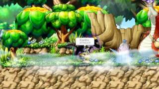 Maple Story Dragon Master Evan Boss Battle