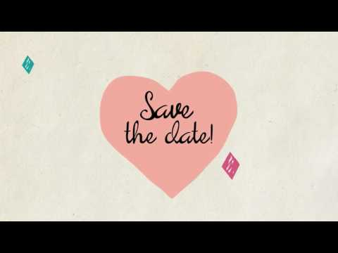 Save The Date Wedding Invite Video Template