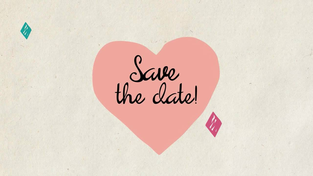Save the Date Video Invitations
