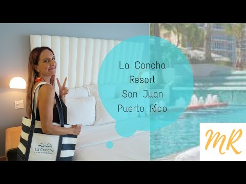 LA CONCHA RESORT  ★ ROOM REVIEW ★ OCEAN VIEW SUITE ★ SAN JUAN, PUERTO RICO