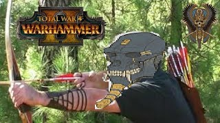 Tomb Kings vs Chaos | SNIPER GIANT - Total War Warhammer 2