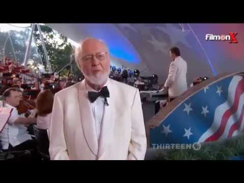 """John Williams conducts new arrangement of """"The Star-Spangled Banner"""""""